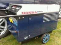 Honda EX 5500 petrol silent running generator 5.5 KVA electric start