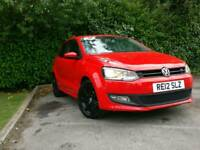 Volkswagen VW POLO 1.2 Petrol 2012 RED SPORT 61k! MOT £3999 ono QUICK SALE! Not bmw audi ford focus