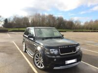 2007 AUTOBIOGRAPHY RANGE ROVER SPORT 2.7 TDV6 HSE AUTO PRIVATE PLATE OVER 20K SPENT MAY PX *BARGAIN*