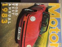 Collection of road tests of new cars from 1983 of over 60 cars - great condition