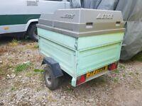 Honda GX630 petrol Stephill 10kVA generator in trailer