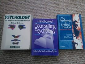 Psychology books Gross Science Mind Behaviour Eysenck Cognitive Psychology Preventive health