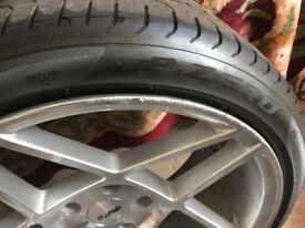 BMW 3 series alloys