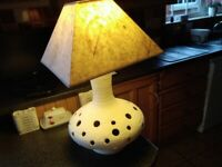 Large table /floor lamp.