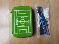 Smiggle Pencil Case - Football Crazy Pitch and Game - Like New