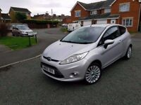 2009 ford fiesta 1.4 tdci titanium full service history cheap tax