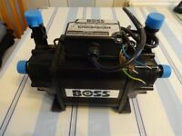 Boss twin impeller shower pump model number 10036501 in good working condition