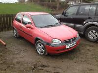 Corsa b 1.2 16v for breaking all parts cheap