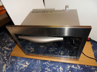 Built-in microwave Whirlpool MT 744/2/IX 2500W - Made in Sweden!