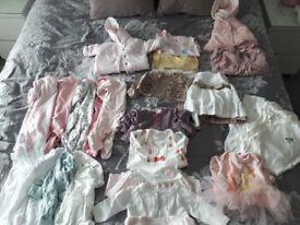 Girls first clothes