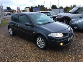 2008 08 Renault Megane 1.5 DCI Tech £30 Tax