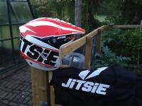 Trials bike helmets