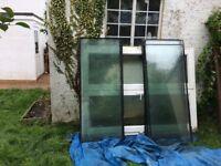 Dismantled conservatory