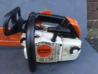 stihl ms 200 top handle chainsaw