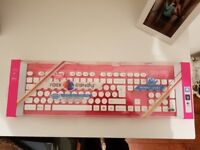 Rock Candy Pink Wireless Keyboard and Wireless Mouse Brand New and Sealed