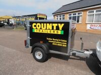 Box Trailers - wide range of sizes for all purposes. All ex-demo trailers.