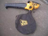 JCB garden vac / blower