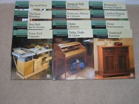 Woodsmith Custom Woodworking by Time Life books 12 titles