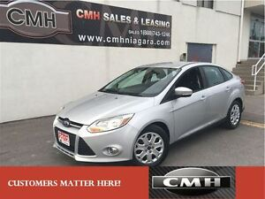 2012 Ford Focus SE LOADED RATED 42 MPG HWY *CERTIFIED*