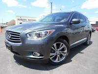 2013 Infiniti JX THEATER PKG - NAVI - DUAL DVD - ALL AROUND CAME