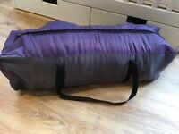 John Lewis travel cot with a John Lewis travel cot mattress topper
