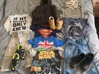 Bundle of boy clothes 2-4y