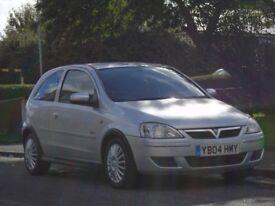 Vauxhall Corsa 1.2 i 16v Design 3dr (a/c)£699 p/x welcome LONG MOT,LOW TAX,LOW INSURANCE