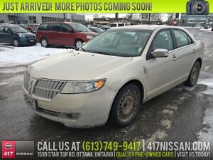 2010 Lincoln MKZ | Navi, Leather Htd & Cooled Seats,Only $7,499