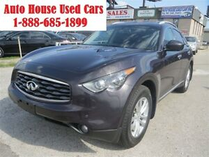 2009 Infiniti FX35 NAV,Leather,DVD,Sunroof,Backup camera