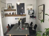 1 desk available now for £475.00 per month