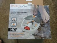 BOXED - High Quality Medisana HD Foot Massager