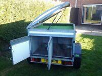 gun dog trailer