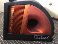 Subwoofer 750watt edge speaker car amp