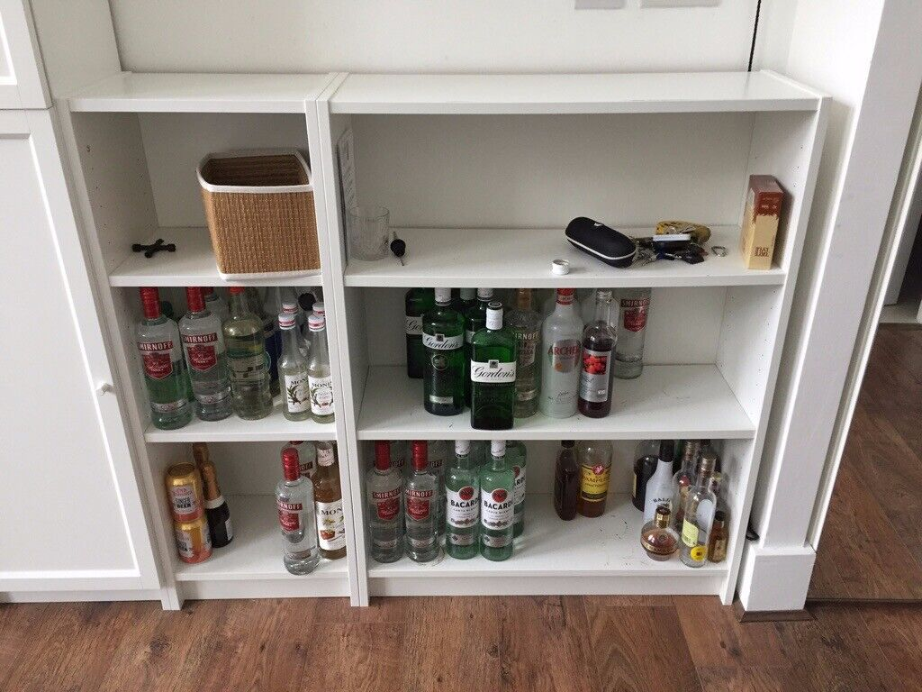 Ikea White Billy Bookcase Bookshelves Short Sizes In Witney Oxfordshire Gumtree