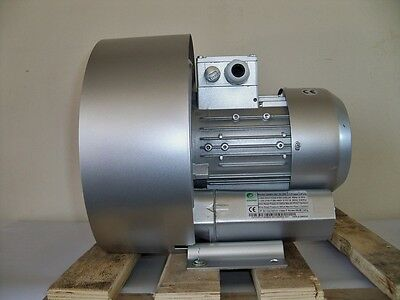 Regenerative Blower 1.1hp 60cfm 100h2o Press 220480v3ph Side Channel Blower