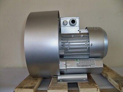 Regenerative Blower 1.1hp 60cfm 100h2o Press 220480v3ph Goorui 001 34 2r2