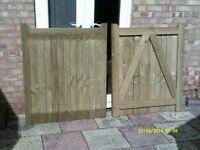 Pair Garden Gates plus Fittings