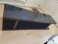 Black tv unit 50 inches