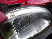 VAUXHALL CORSA B DRIVERS SIDE HEADLIGHT