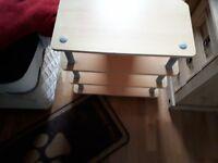 3 shelf tv stand