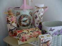 Bespoke country style hand decorated vintage items