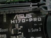 Asus h170pro LGA1151 motherboard