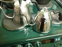 Stove/cooker top kettle & tea and coffee pot