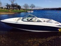 2007 Maxum 1800MX Bowrider Mercruiser 135hp speed boat complete with covers and Bimini top