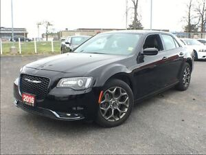 2016 Chrysler 300 S**AWD**LEATHER**NAV**8.4 TOUCHSCREEN**BLUETOO