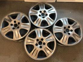 "Ford 16"" Alloys set of 4. 5 stud 6.5Jx 16 5x108 E-52.5"