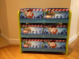 Toy Story 6 drawer storage unit