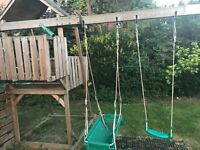 Kingswood Tower, Crazywavy Slide, Swings