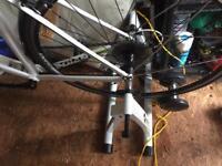 Road bike and static stand