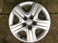 "Single Vauxhall insignia 17"" wheel trim, cover"